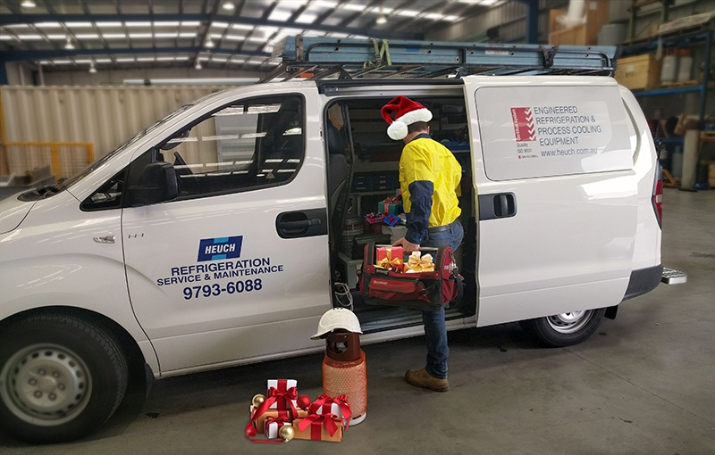 Seasons Greetings from Heuch Refrigeration Services